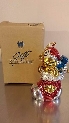 "Avon Gift Collection Ornament ""teddy Bear"