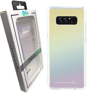 the latest ecf88 91aa2 CASE MATE SAMSUNG Galaxy NOTE 8 Naked Tough Iridescent