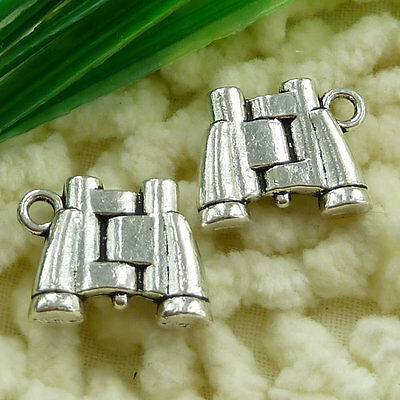 Free Ship 30 pieces tibetan silver telescope charms 15x13mm #1532