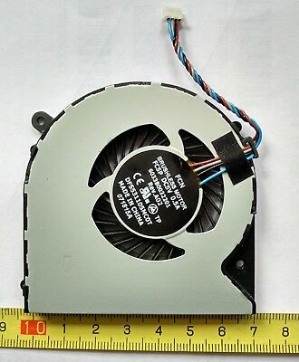 Genuine CPU Cooling Fan for Toshiba Satellite L50-A Series PSKLWA-006002 Laptop