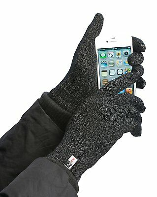Agloves Unisex Sport Touchscreen Gloves, Black, Small/Medium