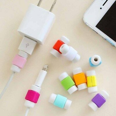 10Pcs Protector Cable Saver Headphones High Quality IPhone Lightning Charger EF