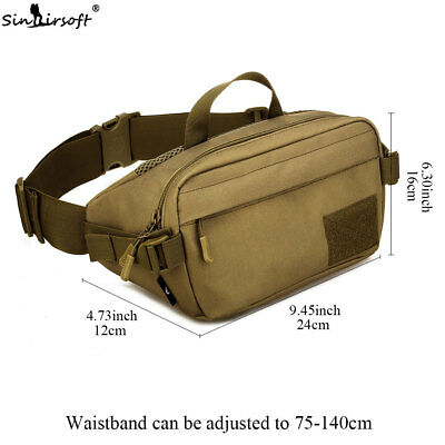 Tactical Waist Bags Military Molle Bellet Nylon Canvas Travel Hiking Climbing