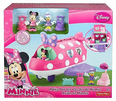 Mattel Y1890 - Minnie Mouse Minnie's Fashion Jet - Neu / OVP