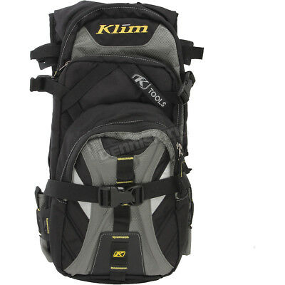 Klim Black/Gray Nac Pak Backpack - 3319-004-000-000