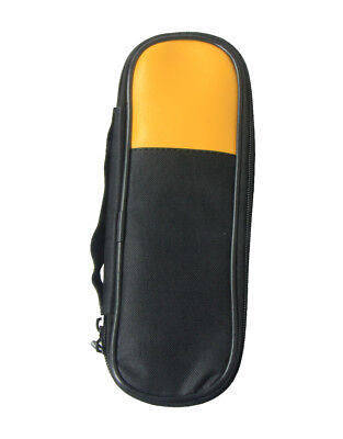 Carry Soft Case/Bag Use For Clamp Meter Fluke T5-600 T5-1000  Double Zipper