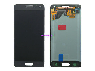 For Samsung Galaxy Alpha SM-G850F LCD Display+Touch Screen digitizer grey +cover