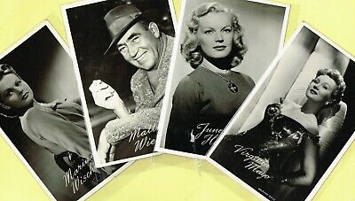 TAKKEN - 1950s Film Star Postcards issued in Holland #AX1363 to #AX1525