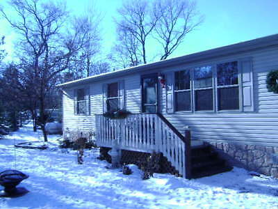 1200 Square Foot Ranch Manufactured Home For Sale  Rome Wisconsin