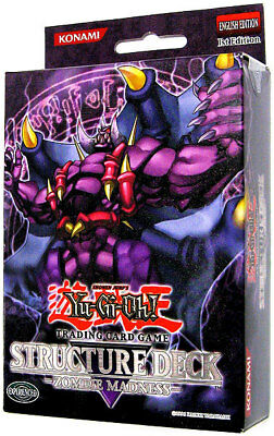 SD2 Yu-Gi-Oh! Structure Deck Zombie Madness 1st Edition (Single Cards)