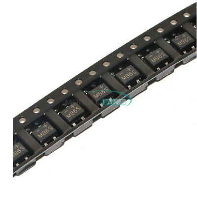 20PCS MB6S 600V 0.5A Miniature Mini SMD Bridge Rectifier