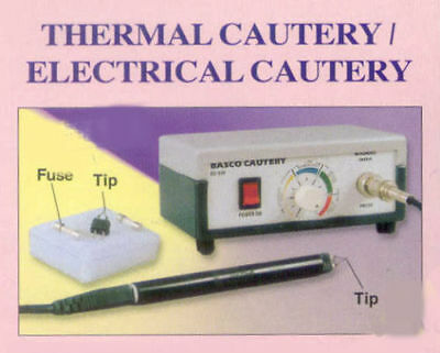Electrical Cautery Eye Cautery Thermal Cautery No Electro Magnetic Basco JGS^&