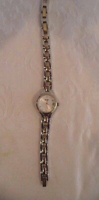 Relic (by Fossil) Ladies Quartz Wrist Watch-With Date-New Battery-Working!