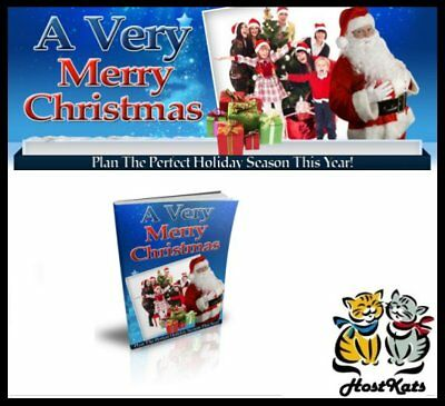 A Very Merry Christmas - eBook - Digital Download