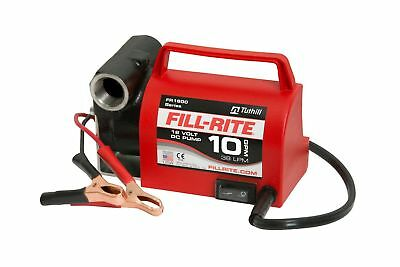 Fill-Rite FR1612 Portable Diesel Fuel Transfer Pump - 12 V DC 10 GPM 1/5 HP 3...