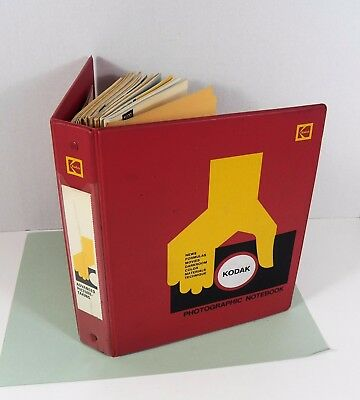 1970's Kodak Photographic Notebook with 12 Publications & Pamphlets