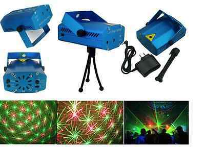 Super Mini Projector Voice-Control Laser Bühnenbeleuchtung  Disco DJ Party Ligh