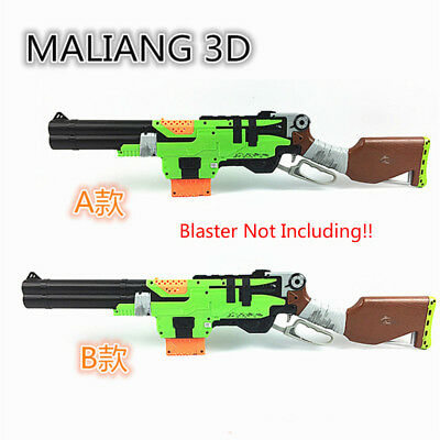 MaLiang 3D Print LHZ Shotgun Barrel Muzzle Sight for Nerf SlingFire Modify Toy