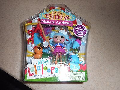 Mini Lalaloopsy Silly Fun House Marina Anchors Doll/accessories New In Box