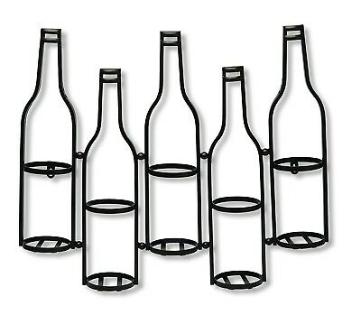 Foreside 78254 Metal Wall Wine Holder. Brand New