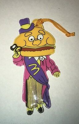 Vintage 1984 McDonald's Mayor McCheese Christmas Tree Ornament Buy 1 Get 1 Free!