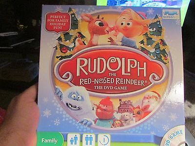 Rudolph  The Red Nosed Reindeer  DVD game. Christmas and Holiday fun for all
