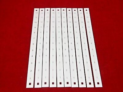 Marathon SW-312-01D M-Thn Marking strip Vinyl White -  Lot of 10