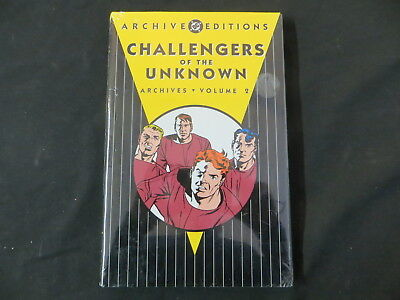 Challengers Of The Unknown Archive Editions Volume 2 Factory Sealed Archives