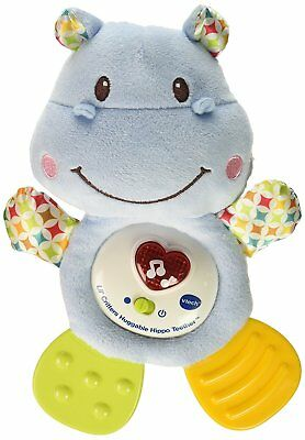 Toys (0 - 12 Months) Activity Toys Smart Vtech Lil Critters Huggable Hippo Teether Soother Birthday Gift Au Stock