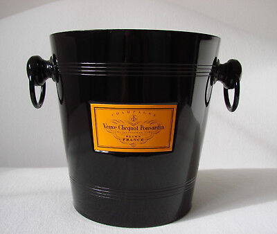 Vintage Aluminum Veuve Clicquot Ponsardin  Champagne Ice Bucket Made in Germany