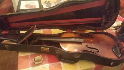 Violin Copy Of Antonius Stradivarius Faciebat Cremona 1713 Made In West Germany