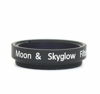 "1.25""/31.7mm Stanard Eyepiece Filter Moon&Skyglow Filter for Astronomy Telescope"