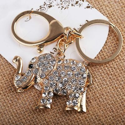 Fashion Bag Pendant Car Keyfobs Holder Rhinestone Key Ring Handbag Women Charm