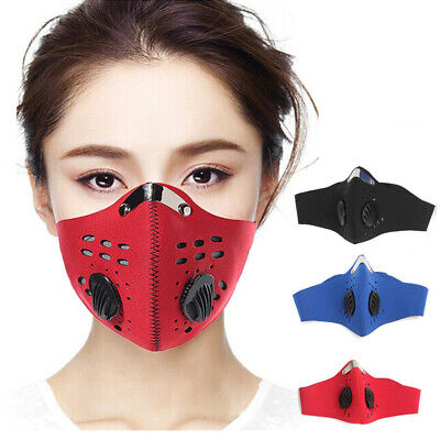 PM2.5 Anti-Dust Respirator Mouth Face Mask for Cyclist Cycle Bike Cycling