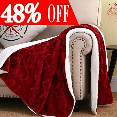 Soft Warm Blanket Sherpa Throw Fleece Throws for Baby Girl Winter Bed Covers ...