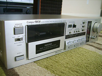 Nikko ND-1000 Comp-TECS 3 Head Stereo Cassette Deck