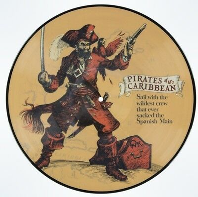 Disney Parks D23  Soundtrack Pirates of the Caribbean Attraction Vinyl Record