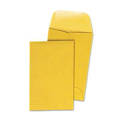 Quality Park Kraft Coin & Small Parts Envelope, #1, 2 1/4 x 3 1/ 085227501608