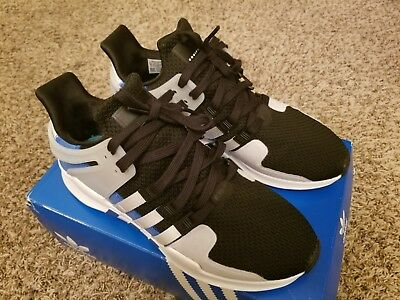 info for ee0fc 62960 Adidas Originals EQT Support ADV Shoes Equipment BY9583 White Blue Size 10