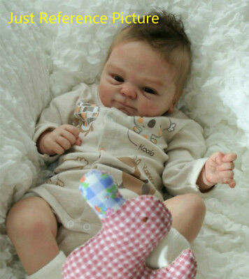Handmade Unpainted Vinyl Silicone Reborn Lifelike DIY Baby Dolls Mould Model