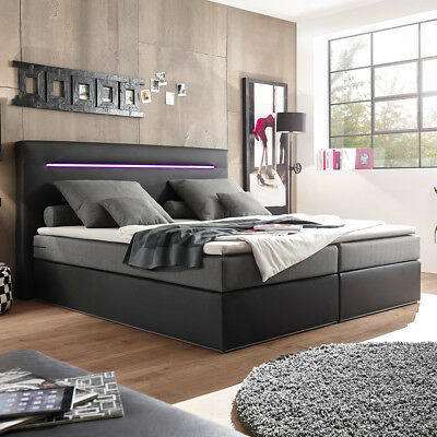 rolf benz bett mit matrazen 180 x 200 cm eur 350 00 picclick de. Black Bedroom Furniture Sets. Home Design Ideas