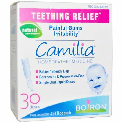 Boiron, Camilia, Teething Relief, 30 Liquid Doses, FREE FIRST CLASS POSTAGE !