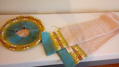 Mini Boden scarf and beret 11-12 years