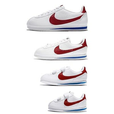 048a6871408 Nike Classic Cortez Leather Forrest Gump OG White University Red Family Size