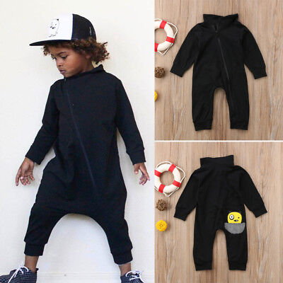 AU Newborn Baby Kid Boy Girl T-Shrit Romper Jumpsuit Bodysuit Top Clothes Outfit