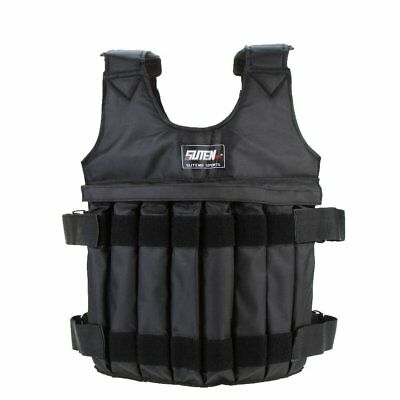 SUTEN Max 20 kg of load weight adjustable Weighted Vest jacket vest exercis Z1A1