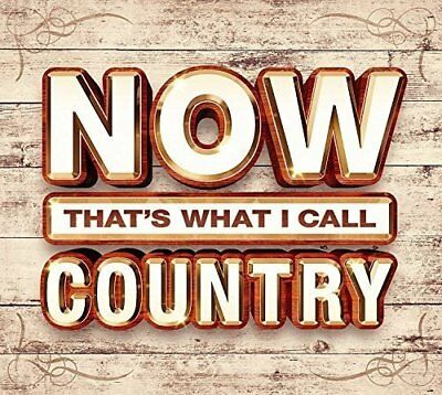 NOW THAT'S WHAT I CALL COUNTRY: 3-CD ALBUM SET (Various Artists) (2017)