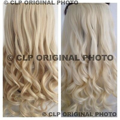 UK Real Thick Clip In Hair Extension One Piece Curly Full Head Like Real Hair