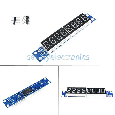 MAX7219 LED Dot matrix 8Digit Digital Display 0.56 Tube Anode Module For Arduino