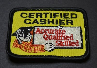 Home Depot Certified Cashier Patch
